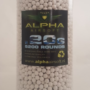Alpha airsoft 0.20 5200 rounds