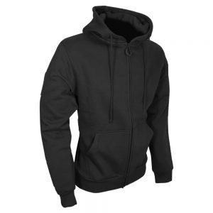 viper tactical zipped hoodie zwart